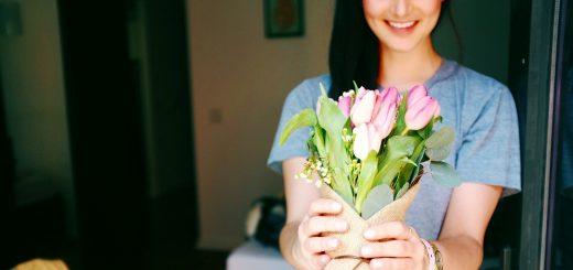 Žena a kvety